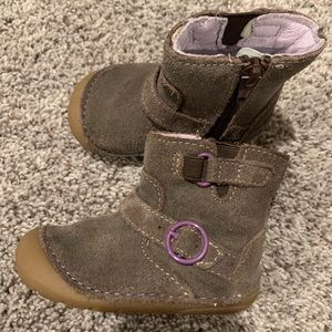Stride rite girls infant boots